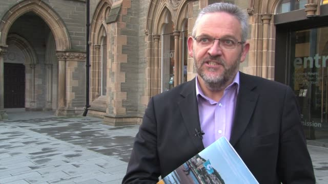 the scottish city of dundee has made its final bid for the coveted award of uk city of culture for 2017 the pitch was made in the ulster city of... - environmental media awards stock videos & royalty-free footage
