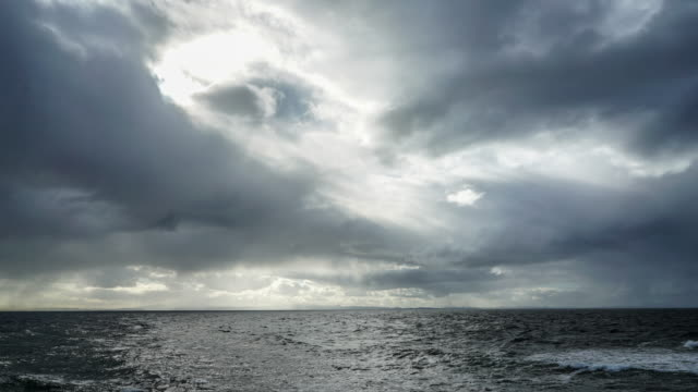 the scottish north sea. - film moving image stock videos & royalty-free footage