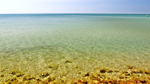 the sea and rocks - varadero stock videos and b-roll footage