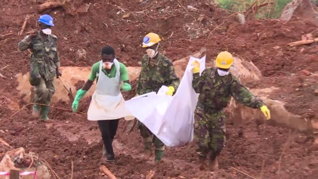 The search for victims continues in Sierra Leone five days after deadly floods and mudslides in the capital Freetown left more than 400 people dead...