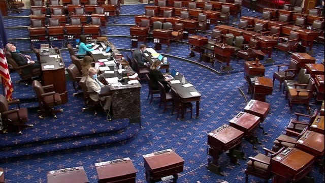 the senate formally votes on confirming william evanina to be the first senate confirmed the director of the national counterintelligence and... - senate stock videos & royalty-free footage