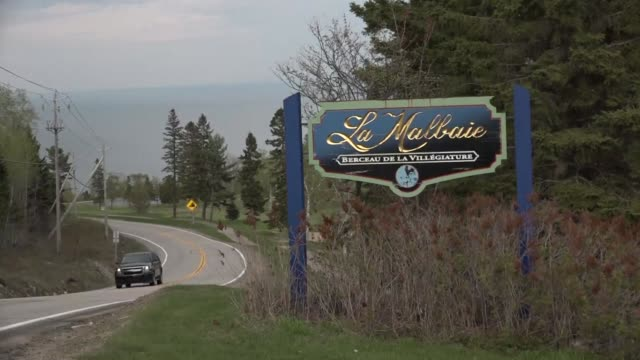 the seven most industrialized nations will gather in la malbaie canada a small city 140 km from quebec where the g7 summit will take place in a... - quebec stock videos & royalty-free footage