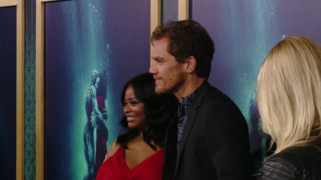 CLEAN 'The Shape Of Water' Los Angeles Premiere Presented By Fox Searchlight Pictures at the Academy of Motion Picture Arts and Sciences on November...