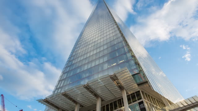 The Shard close up.