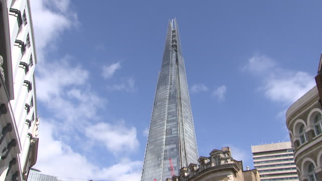 the shard in london, england on july 11, 2018. - music or celebrities or fashion or film industry or film premiere or youth culture or novelty item or vacations stock videos & royalty-free footage