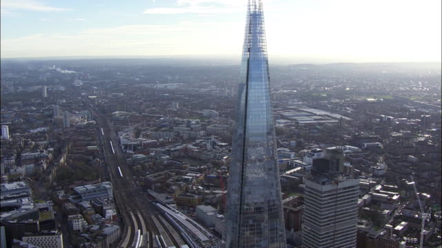 the shard shot on the 16th of september 2014 in london england - shard london bridge stock videos & royalty-free footage