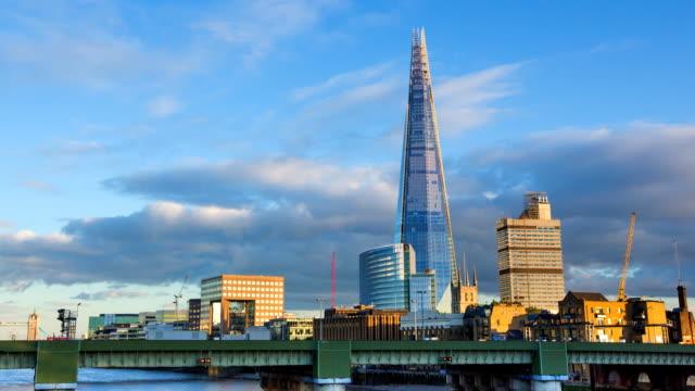 the shard - shard london bridge stock videos & royalty-free footage