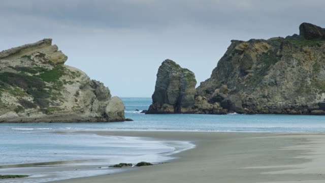 The Sheltered Lagoon at Castlepoint, New Zealand