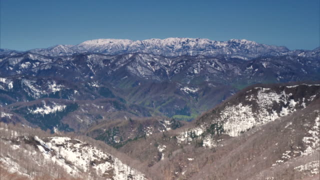 The Shirakami Mountains in the Spring