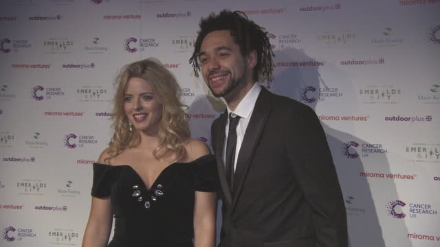 the shires at emerald's ivy ball at emerald's ivy ball at victoria embankment gardens on december 05 2015 in london england - embankment stock videos and b-roll footage