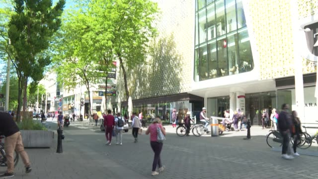 the shopping streets of vienna's city centre are full as all the shops in the austrian capital were allowed to reopen. austria has lifted travel... - traditionally austrian stock videos & royalty-free footage