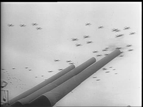 the signed surrender documents are taken away / from washington president s truman gives short speech on surrender / montage of planes flying over... - surrendering stock videos & royalty-free footage