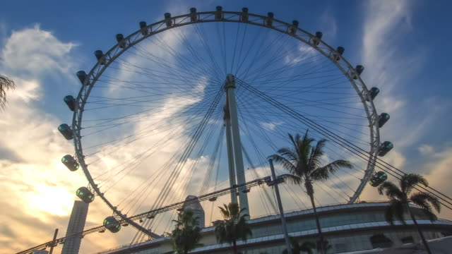 the singapore flyer - singapore flyer stock videos and b-roll footage