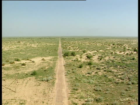 the site of india's first nuclear test for 24 years. - atomic bomb testing stock videos & royalty-free footage