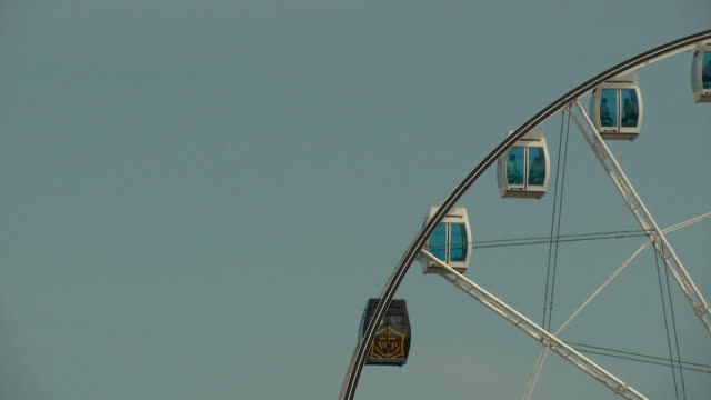 the skywheel in helsinki finland on july 13 2018 - music or celebrities or fashion or film industry or film premiere or youth culture or novelty item or vacations bildbanksvideor och videomaterial från bakom kulisserna