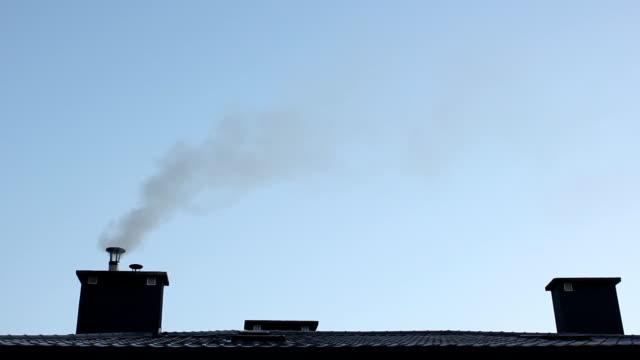 The smoking chimney