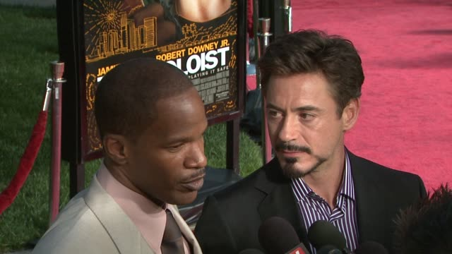 the soloist premiere, los angeles, ca, 4/20/09 - soloist stock videos & royalty-free footage