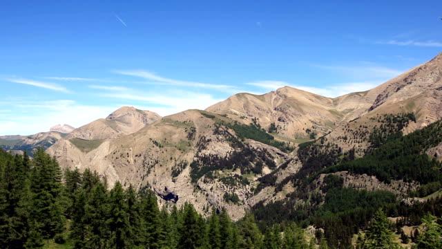 vidéos et rushes de the southern alps in the parc national du mercantour near to allos. - parc naturel