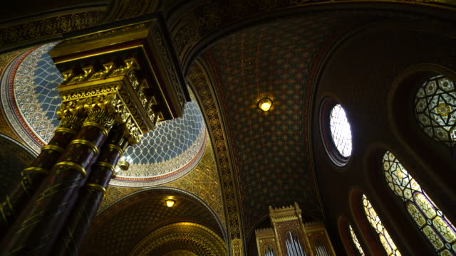 The Spanish Synagogue in Prague