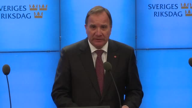 The speaker of Sweden's parliament gives the outgoing Social Democrats Prime Minister Stefan Lofven a mandate to form a government a day after a...