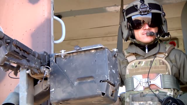 vídeos de stock e filmes b-roll de the special mission wing afghanistan's special aviation unit operates from kabul kandahar and mazare sharif the unit provides expeditionary reach for... - kandahar