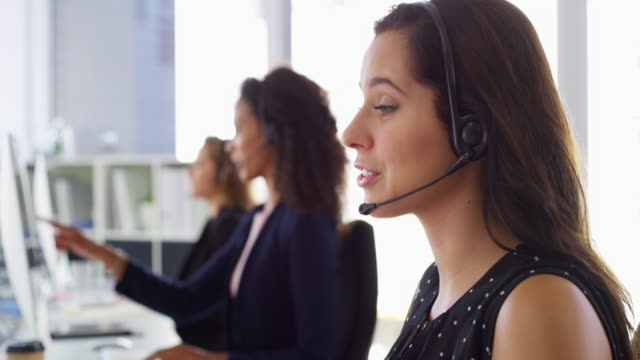 the specialists in customer support - sales occupation stock videos & royalty-free footage