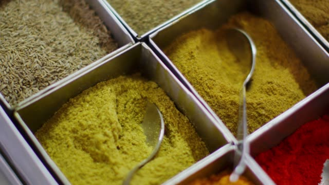 the spice powder in hyderabad, telangana state - spice stock videos & royalty-free footage