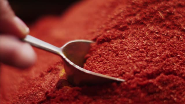 the spices powders in isfahan, iran - middle east stock videos & royalty-free footage