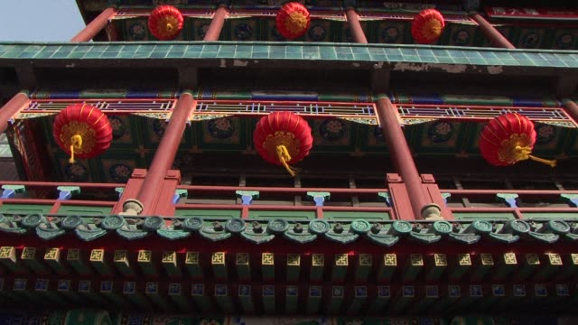 the spring festival in beijing draws to a close on the 15th day of chinese new year a day that is known as the lantern festival beijing china - chinese lantern festival stock videos and b-roll footage