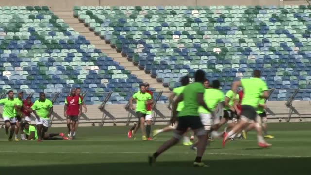 The Springboks continue their preparation in Durban for the forthcoming World Cup that will be held in England