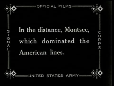 stockvideo's en b-roll-footage met the st. mihiel drive - 2 of 8 - eerste wereldoorlog