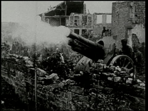 the st. mihiel drive - 3 of 8 - prima guerra mondiale video stock e b–roll