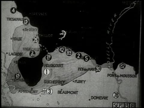 stockvideo's en b-roll-footage met the st. mihiel drive - 7 of 8 - eerste wereldoorlog