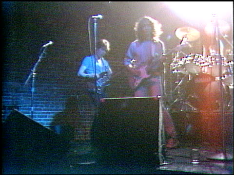 the stand band at the stand band at club ligerie in hollywood, california on january 1, 1986. - 1986 stock videos & royalty-free footage