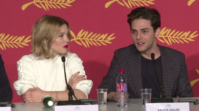 The star studded cast of Only the end of the world presented their film in Cannes on Thursday after the film by Canadian prodigy Xavier Dolan opened...