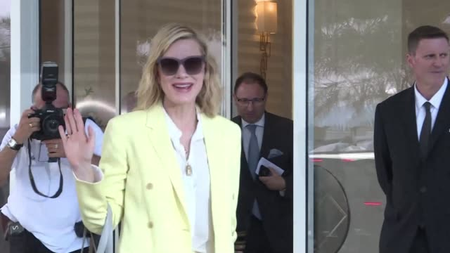 the starry femaledominated jury of the 71st cannes film festival including actresses cate blanchett lea seydoux and kristen stewart arrives on the... - 71st international cannes film festival stock videos & royalty-free footage