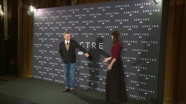 the stars of the new bond film spectre gather in rome for a premiere - film premiere stock videos & royalty-free footage