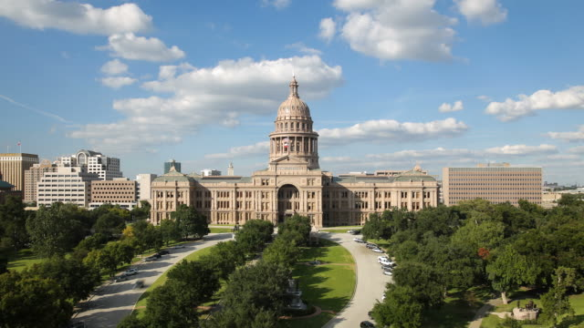 the state capitol building, austin, texas, usa - texas state capitol building stock videos & royalty-free footage