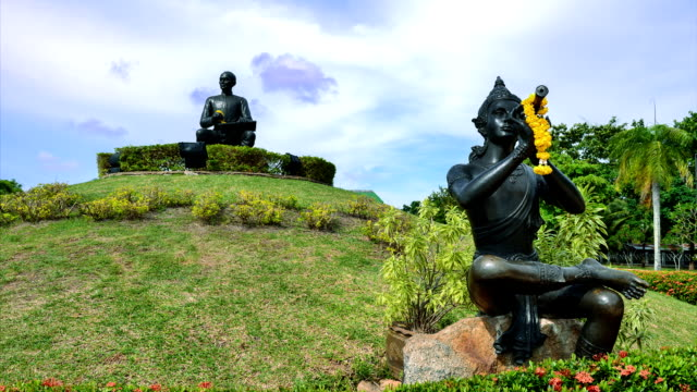The Statue of Sunthorn Phu