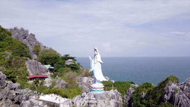 the statue - guanyin bodhisattva stock videos & royalty-free footage