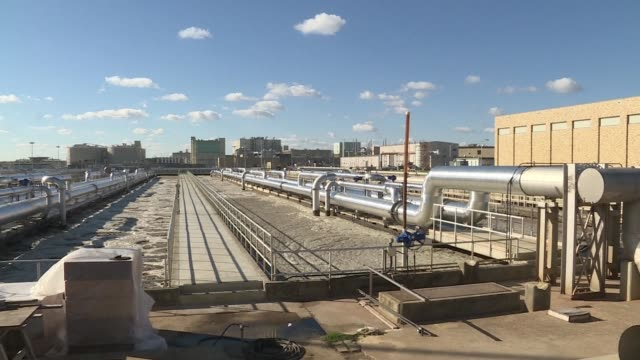 The stench of clogged toilets fills the air at the US capitals wastewater treatment facility