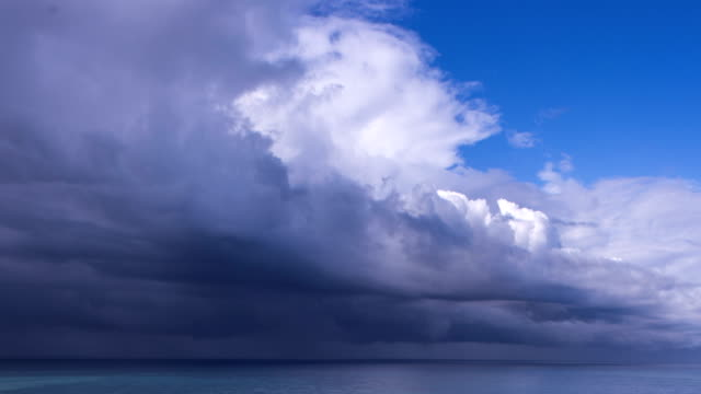 the storm is coming time lapse - seascape stock videos & royalty-free footage