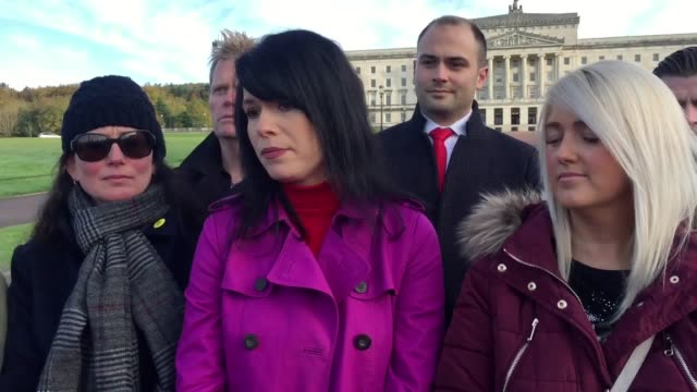 the stormont assembly will sit for the first time in two and half years later after it was recalled by mlas wishing to protest at changes to northern... - midday stock videos & royalty-free footage