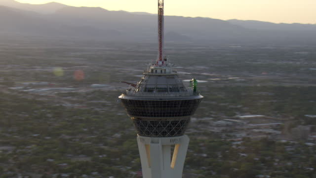 The Stratosphere towers over Las Vegas.