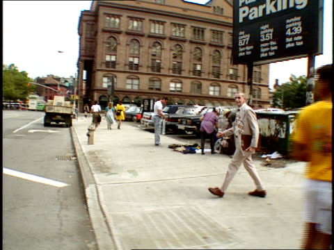 The streets of New York as shot from a moving car in 1989