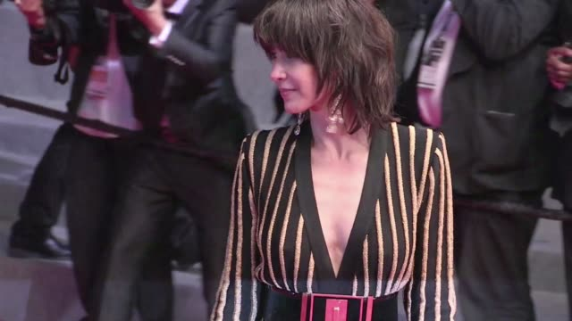 The stunning French actress and Jury member Sophie Marceau attend the Nie Yinniang red carpet during the 68th Annual Cannes Film Festival Thursday...