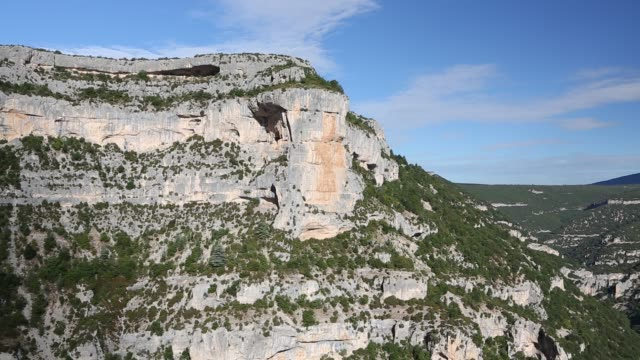 the stunning gorges de la nesque in the luberon/vaucluse, provence, france. - luberon video stock e b–roll