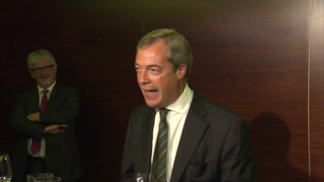 the success of ukip in the european election is the first time since 1906 that a party other than the conservatives or labour has come first in the... - 2014 stock videos and b-roll footage
