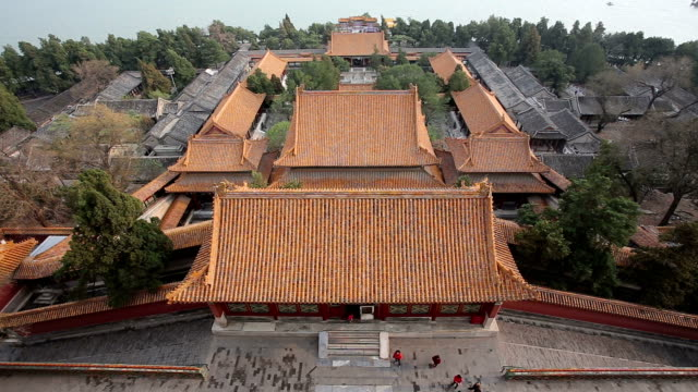the summer palace in beijing - summer palace beijing stock videos & royalty-free footage