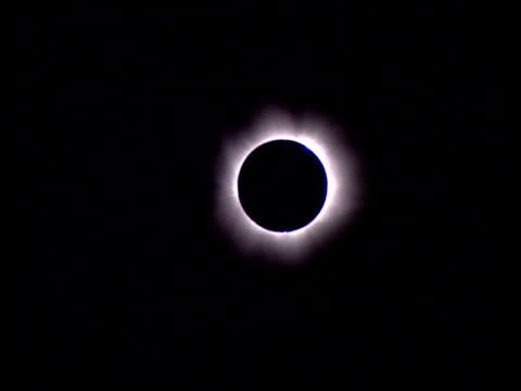 The sun emits a light ring around the moon during a full solar eclipse.